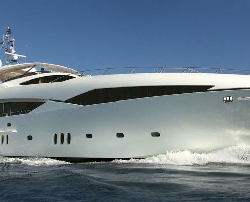 Luxury Yacht Finishing & Custom Paint Work Hampshire