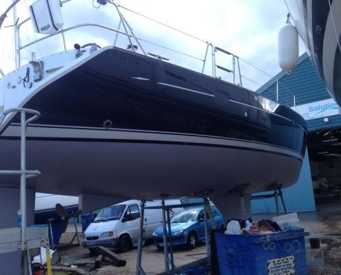 Desty Marine waiting for owners