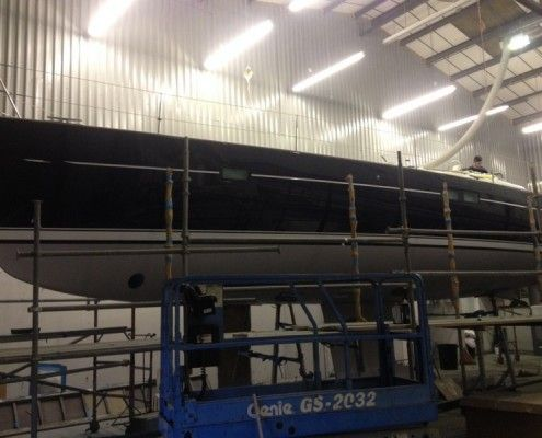 Desty Marine complete within shed
