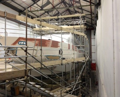 Desty Marine imperfections rectified