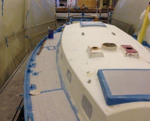Desty Marine paint priming prep