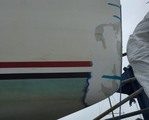 Desty Marine boat repairs