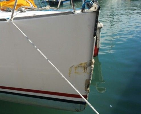 Fiberglass boat repair Southampton