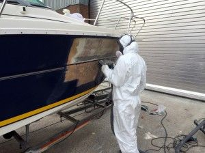 Sunseeker Boat Repair