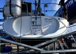 Transom Repair Desty Marine