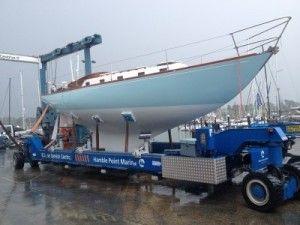 Southampton Yacht Painting