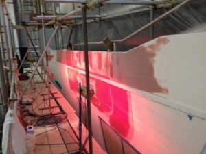 Yacht Painting in Hampshire